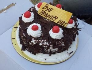 Franziska's farewell cake